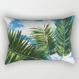 Calm Palms Rectangular Pillow