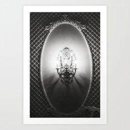 Lamp Lit Art Print