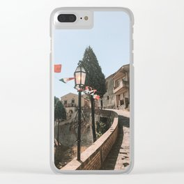 Sicily Clear iPhone Case