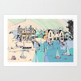 Flushing Manor Art Print