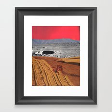 harvest moon Framed Art Print