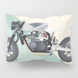 Motorcycle Racket Pillow Sham