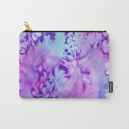Batik Scent of Lilacs Carry-All Pouch