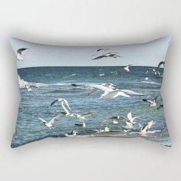 FLYING SEAGULLS Rectangular Pillow