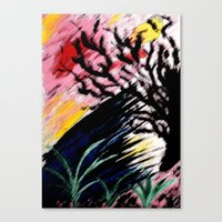 philosophy Canvas Prints featuring Philosophy by Jessica Nicole Pacheco