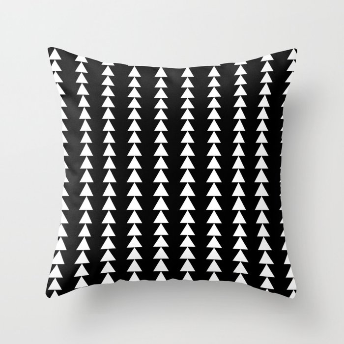 Never-ending Christmas Tree Throw Pillow