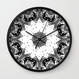 Star Symmetry Wall Clock