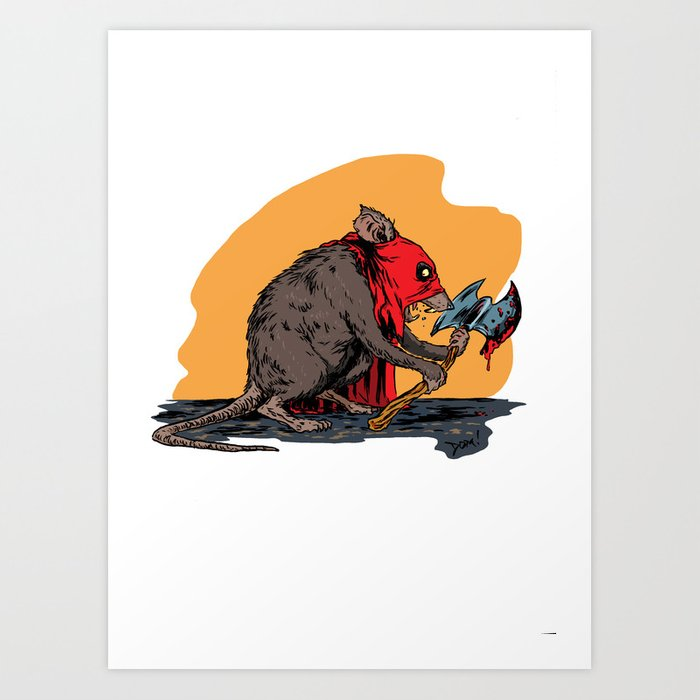 Ratling Art Print