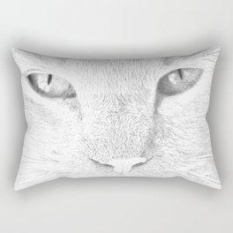 sandy, close up, drawing b&w Rectangular Pillow