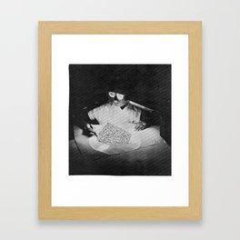 it's so relentless Framed Art Print