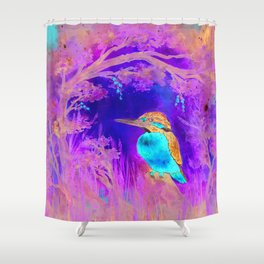 Morgenglühen Shower Curtain