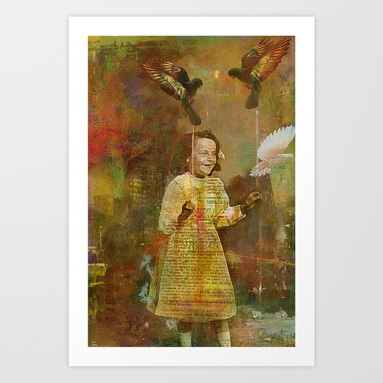 Let the birds go Art Print