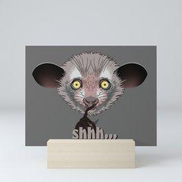 Aye-Aye Lemur Mini Art Print