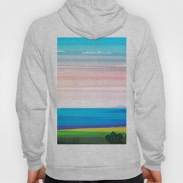 Sunset on the sea Hoody