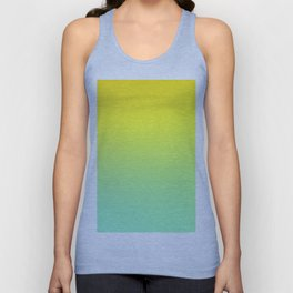 TOO HIGH - Minimal Plain Soft Mood Color Blend Prints Unisex Tank Top