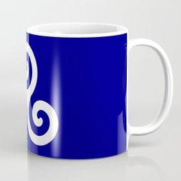 Triskele 13 -triskelion,triquètre,triscèle,spiral,celtic,Trisquelión,rotational Coffee Mug