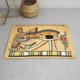 Egypt Nekhbet Eye Horus Rug