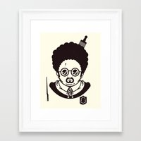 potter Framed Art Prints featuring Potter by Ryder Doty