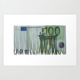 100 euro Art Print
