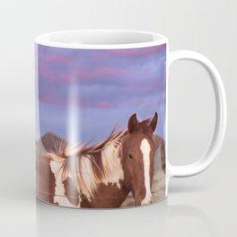 Santa Fe Horse Sunset Coffee Mug