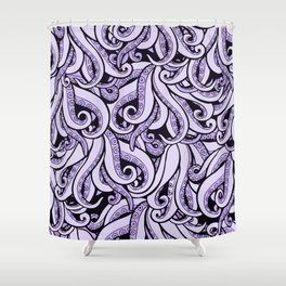Ursula The Sea Witch Inspired Shower Curtain