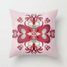 Vinally Throw Pillow