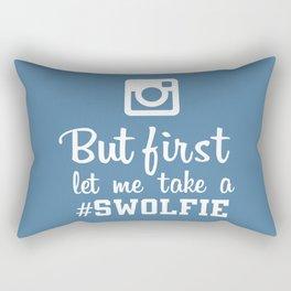 #swolfie Rectangular Pillow