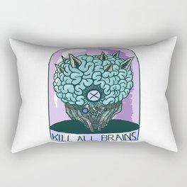 Kill All Brains Rectangular Pillow