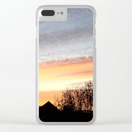 Dual Sky Clear iPhone Case