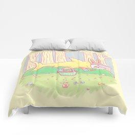 The Easter Bunny Shark Comforters