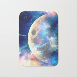 The Other Side of the Moon Bath Mat
