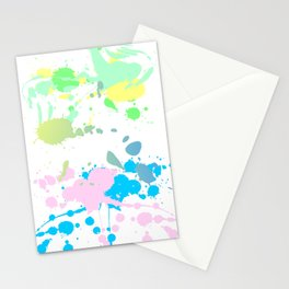 Paint Daubs (2) Stationery Cards