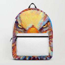 Bald Eagle Watercolor Backpack