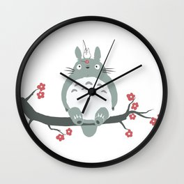 My neighbour Toto-ro Wall Clock