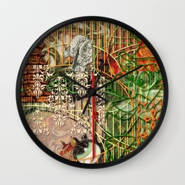 The Interlocking Mechanism of Compartmentalization Wall Clock