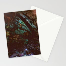 Forest Wall Dark Fairy Landscape Stationery Cards