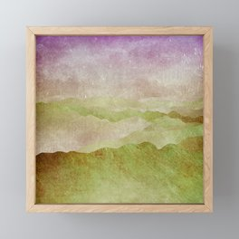 Smoky Mountains II - Appalachian Spring Framed Mini Art Print