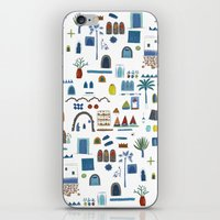 morocco iPhone & iPod Skins featuring Morocco Sketch by Nic Squirrell