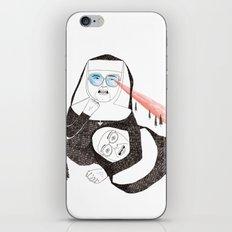Fighting Nuns iPhone & iPod Skin