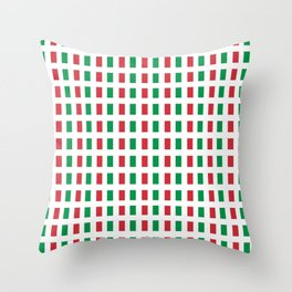 flag of Italia- Italy,Italia,Italian,Latine,Roma,venezia,venice,mediterreanean,Genoa,firenze Throw Pillow
