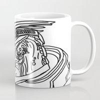 garrus Mugs featuring Garrus by Cat Milchard
