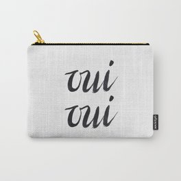 Oui Oui Carry-All Pouch