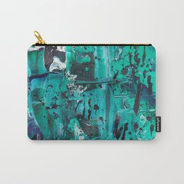 Pthalo Dance Carry-All Pouch