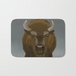 Where the Buffaloes Roam Bath Mat