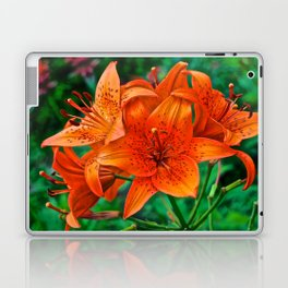Orange Tiger Lilies - The Peace Collection Laptop & iPad Skin