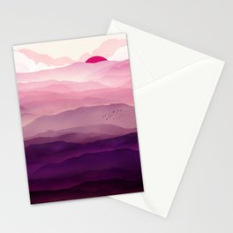 Ultra Violet Day Stationery Cards