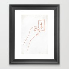 The Emotional Light Switch Framed Art Print