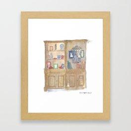Library Framed Art Print