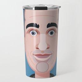 Comics of Comedy: Jerry Seinfeld Travel Mug