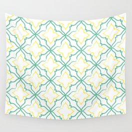 Alhambra Tile Pattern Wall Tapestry